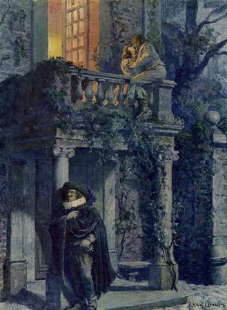 topos romanesque de la rencontre amoureuse Versailles